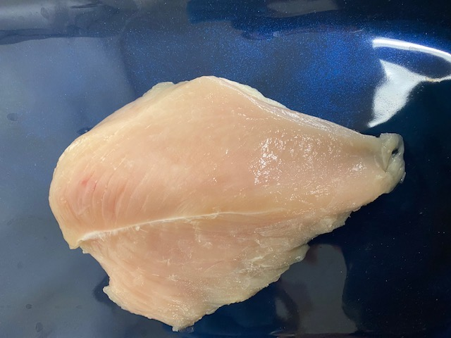CHICKEN BREAST 5OZ FLAT BNLS/SKLS IF