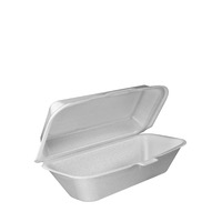 CONTAINER FOAM HINGED HOAGIE 9 125 CT