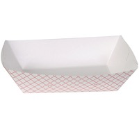 TRAY PAPER FOOD PLAID 5 LB 250 CT