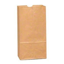 BAG PAPER 4# BROWN 500 CT CS