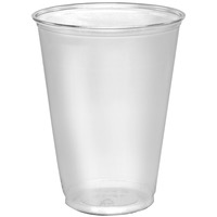CUP PLASTIC CLEAR 10 OZ 1000 CT