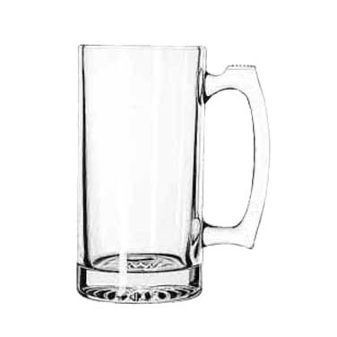 GLASS MUG SPORT 25 OZ CAPACITY 1 DOZ./CASE