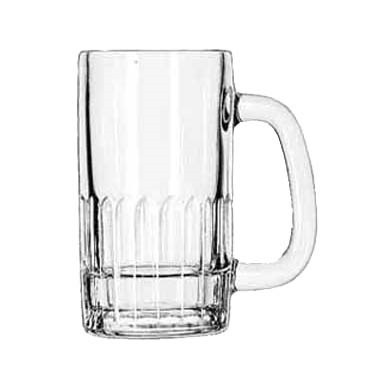 GLASS MUG HANDLED 12 OZ CAPACITY 2 DOZ./CASE