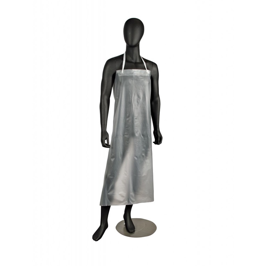 APRON DISHWASHING-CLEAR VINYL 12 MIL 36X45