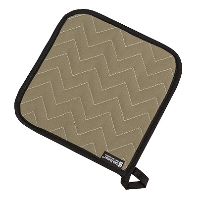 POT HOLDER 8X8 QUILTED BESTGUARD/TERRY FLAME RETARDANT SAN JAMAR