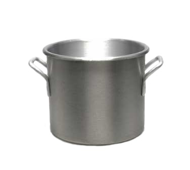 POT STOCK 20 QT W/O COVER ALUMINUM 12D X 11H