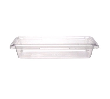 FOOD BOX 12X18X3.5 CLEAR POLYCARBONATE