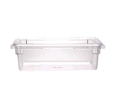 FOOD BOX 12X18X6 CLEAR POLYCARBONATE