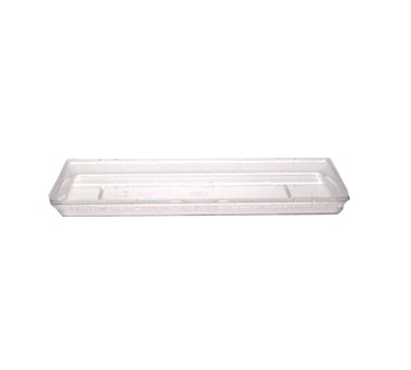 FOOD BOX COVER 12X18CLEAR POLYCARBONATE