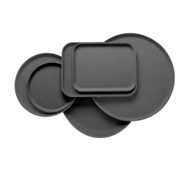 TRAY CAMTREAD RND SERVING 14 BLACK