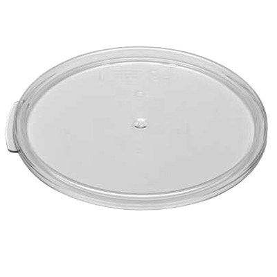 STORAGE CONTAINER COVER ROUND 2&4 QT CLR