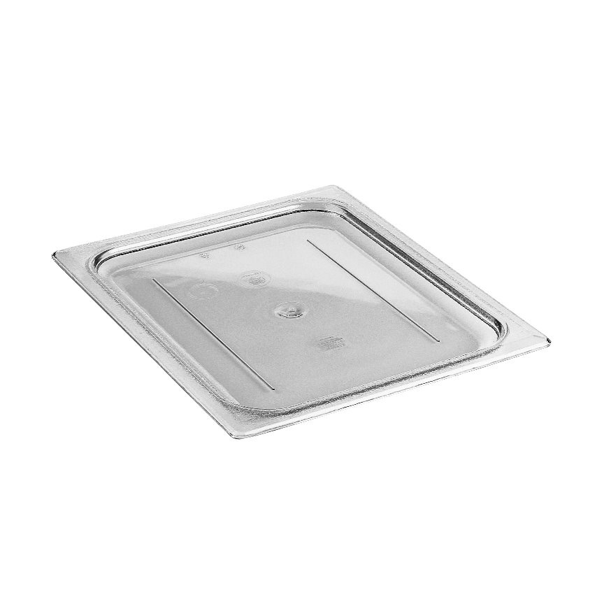 COVER PAN 1/2 SIZE PLAIN CLEAR