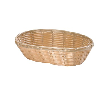 BASKET 9X7X3 OVAL WIRE REINFORCED