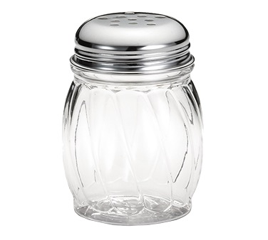 SHAKER CHEESE 6 OZ. GLASS SWIRL