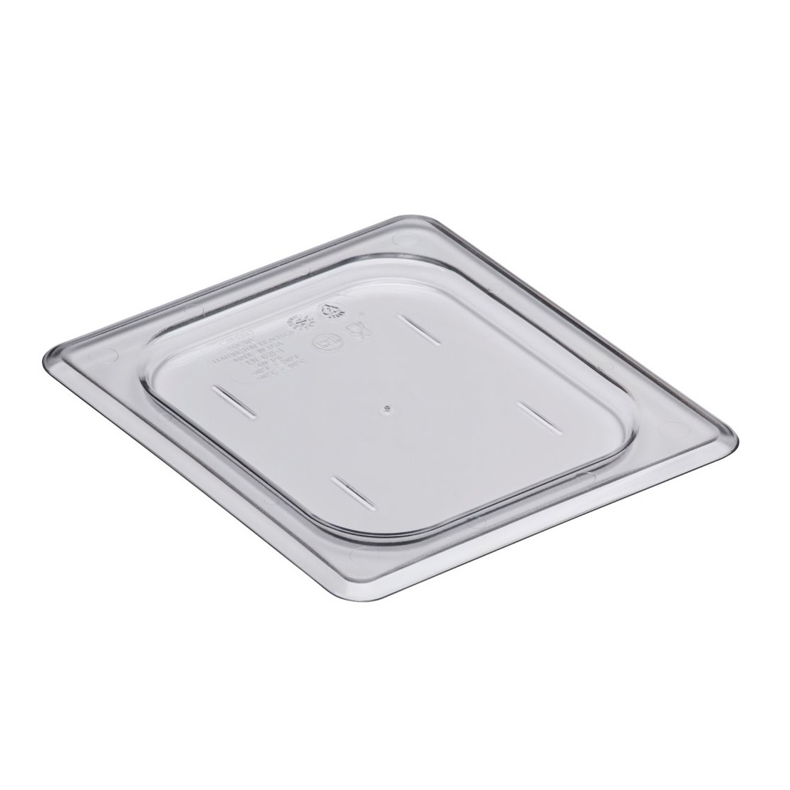 COVER PAN 1/6 SIZE CLEAR