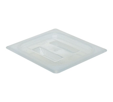 COVER PAN 1/6 SIZE W/ HANDLE TRANSLUCENT