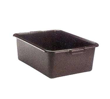 BUS TUB 15.5X21.75X7 D BLACK POLY