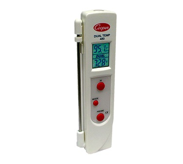DUAL TEMP INFRARED & PROBE THERMOMETER