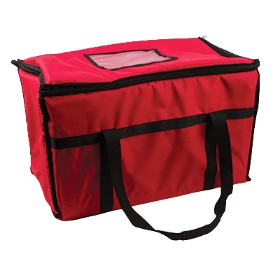 SAN JAMAR FOOD CARRIER 22X12X12 NYLON RED