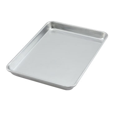 WINCO SHEET PAN 1/4SIZE ALUMINUM (CASE 12)
