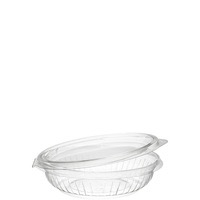 BOWL CLEAR HINGED 8 OZ 75 CT