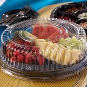 12in CATERING TRAY FLT LID 3CT
