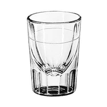 SHOT GLASS LINED FLUTED 2 OZ LINED AT 1 OZ 4 DOZ./CASE