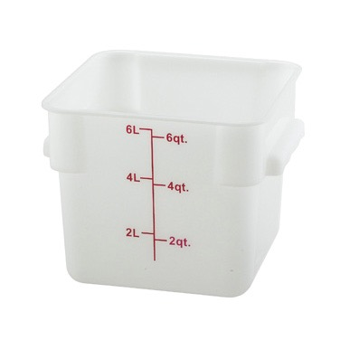 CONTAINER SQUARE 6 QT