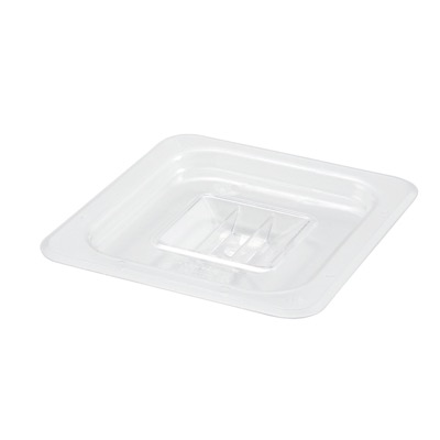COVER PAN 1/6 W/HANDLE CLEAR