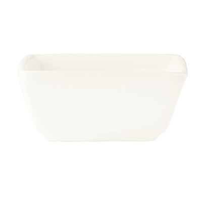 BOWL DIPPING 4oz 3 SQ. ULTRA BRT WHT SLATE (36 EA)