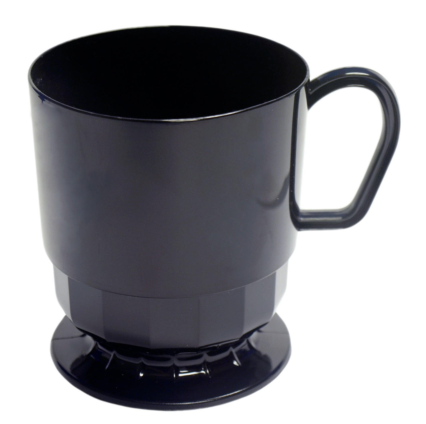 CUP 8OZ. DELUXE COFFEE BLACK 10/PK