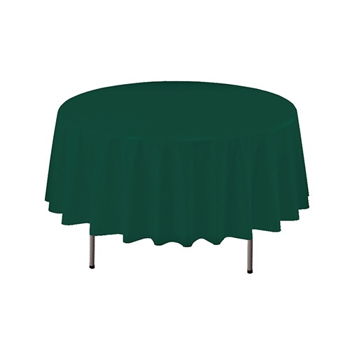 COVER TABLE GREEN 84 ROUND