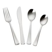 MOZAIK CLASSIC SILVER ASSORTED CUTLERY 80PCS