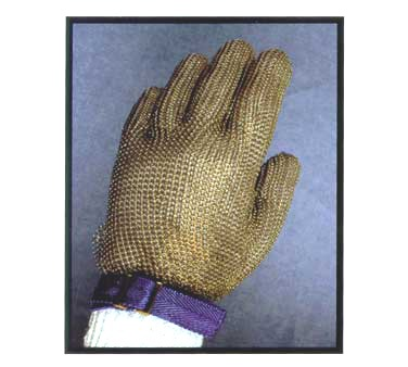 SAFETY GLOVE ST/STL MESH/WITH WRIST STRAP LARGE