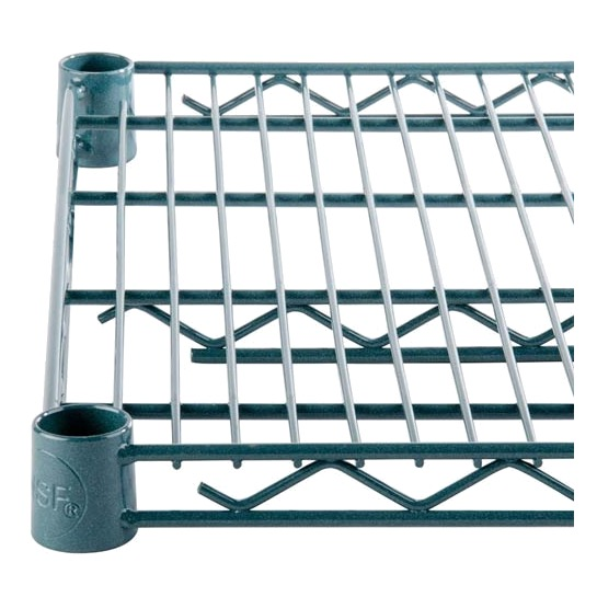 SHELVING WIRE 24X36 GREEN EPOXY