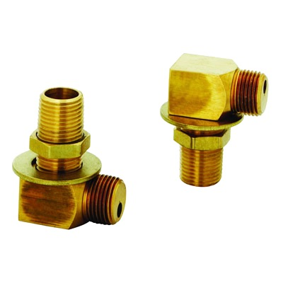 FAUCET INSTALL KIT 2-.5 NPT NIP 2-SHORT Ell .5 NPT FEMAIL X MALE