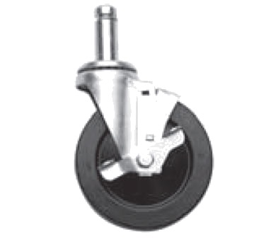 CASTERS W/BRAKES OLYMPIC SHELVING SWIVEL