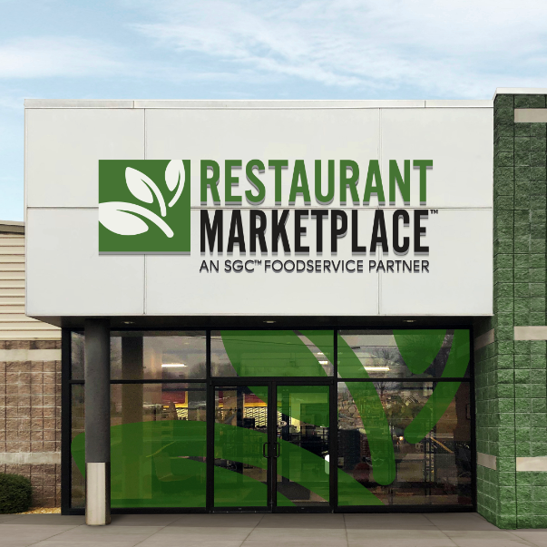 Restaurant Marketplace entrance