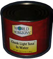 TUNA CHUNK LIGHT IN WATER 66