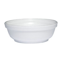 BOWL FOAM WHITE SQUAT 6 OZ 50 CT