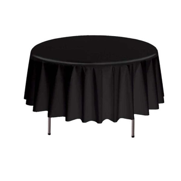 COVER TABLE BLACK 84 ROUND