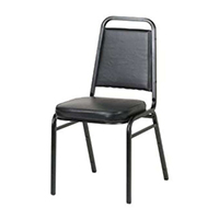 CHAIR STACKING BLACK
