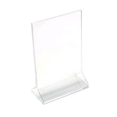 HOLDER DISPLAYETTES CARD 4X6 CLEAR ACRYLIC