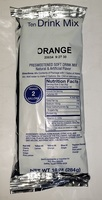 DRINK MIX ORANGE POWDER